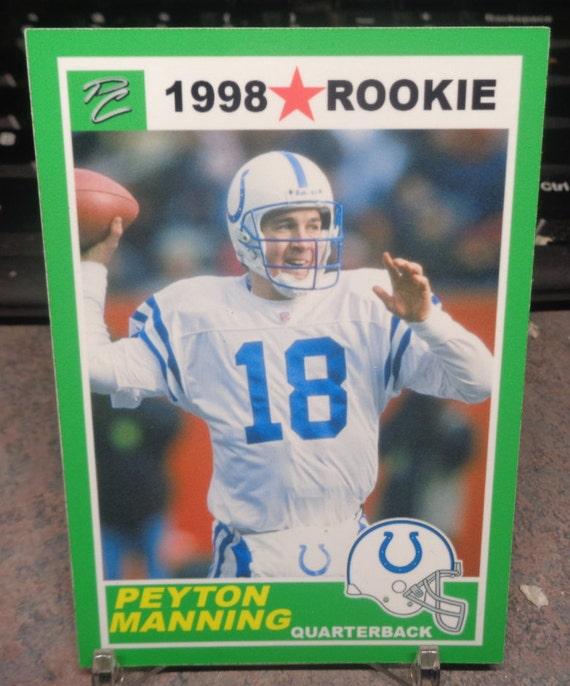 Peyton manning rookie year