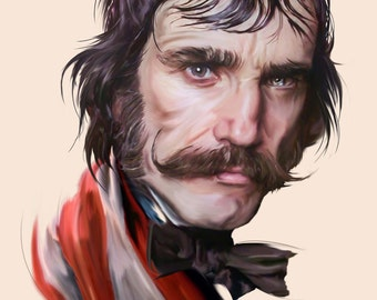 Daniel Day-Lewis - Bill The Butcher Portrait