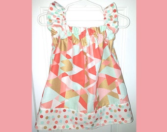 Baby or Toddler Grab Bag Ruffle Sleeve Dress
