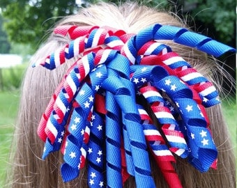Fourth of July Hair Clip