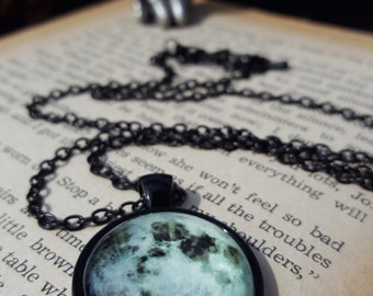 Moon Picture Pendant
