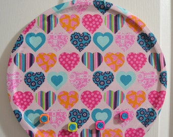 Hearts in bloom magnetic hanging decoration
