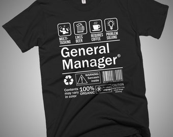 General Manager Funny T-Shirt