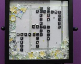 Custom Made Scrabble Artwork
