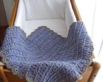 Lilac wool mix cover