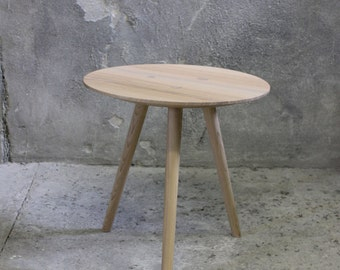 Large IDA - side table, occasional table, stool - ash