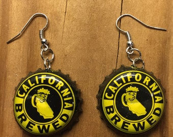 Moylan's Brewery Bottle Cap Earrings
