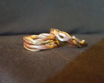 Multi-Metal Twist Ring