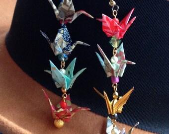 Multi Crane Earrings