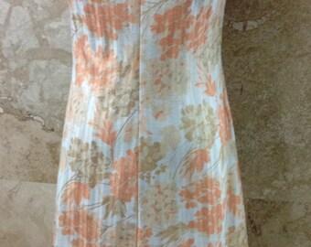 VINTAGE Polyester Floral Dress
