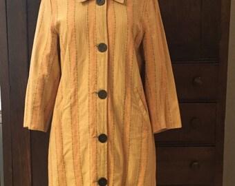 Autumnal Cotton Dress Coat