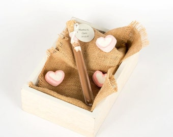 Personalised Hot Chocolate Filled Test Tube Edible Wedding Favours/Baby Shower Favours/Bomboniere/ Custom and handmade