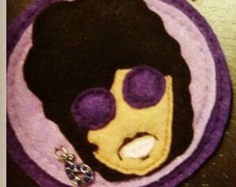 Prince Felt Pin