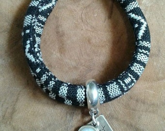 ACTEC/flowers cord bracelet