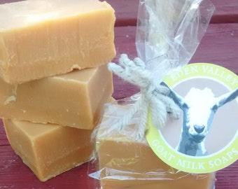 All Natural Lemongrass Goat Milk Soap 2 oz.