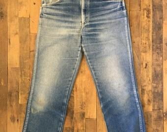 High-Waisted Lee Jeans