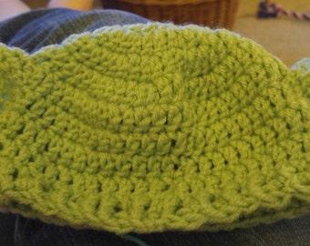 baby or toddler yoda hat