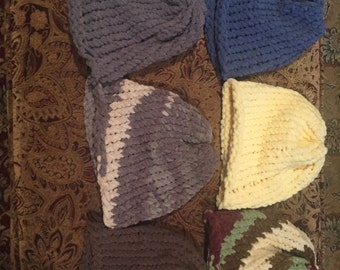 Handmade Knitted Hats and Scarves
