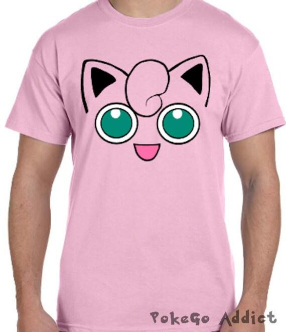 Jigglypuff Face Pokemon Go Cosplay Parody T-Shirt Sizes 2T