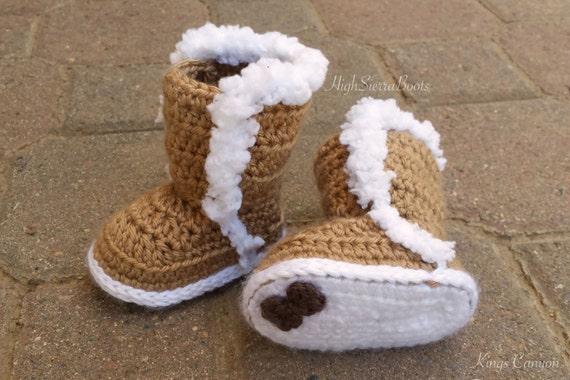 Baby Uggs Crochet Baby Bootie Pattern 1 Winter Booties