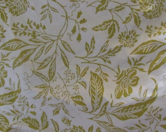 Floral Home Decorator Fabric - 4 yds.cotton duck