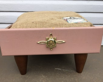 Upcycled Vintage Drawer Pet Bed