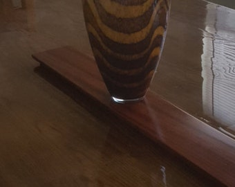 Bubinga wood handcrafted versatile centerpiece