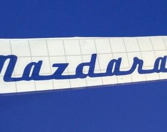 Mazdarati Mazda Sticker