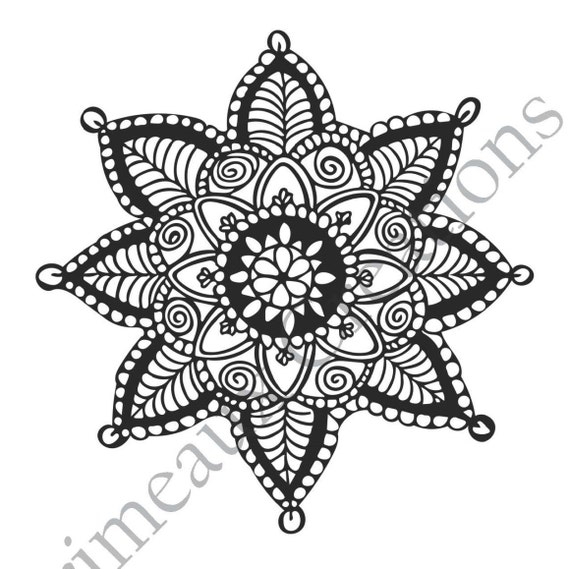 Bundle Downloadable Mandala Coloring Pages PDF 5
