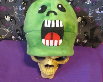 Slimer The Ghost Inspired Halloween Hat Beanie