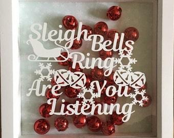 Sleigh Bells Ring Christmas Vinyl Decal