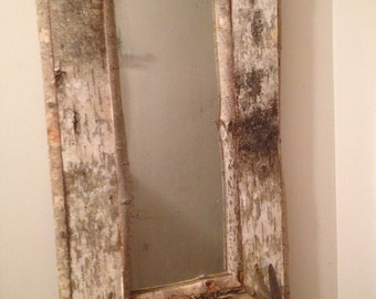 Birch Bark Mirror #2
