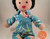 Deposit for Bree F for custom Make-A-(IndigoMuse)Friend heirloom doll with pajamas