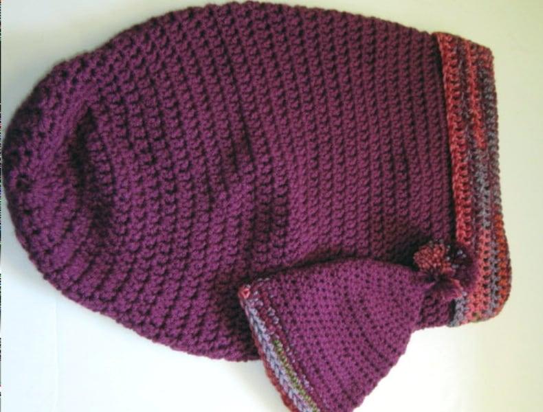 Baby Bunting set Sleeping Bag Sleepsack Cocoon Purple