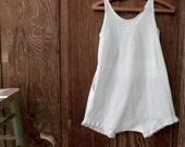RESERVED LISTING  Vintage Young Girl's Romper Undergarment