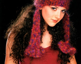 CROCHET CHIC BOOK 30 Cutting-Edge Projects Francine Toukou Scarves Hats Bags Patterns