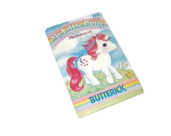 Vintage 1985 My Little Pony Stuffed Toy Pattern | My Little Pony Moondancer