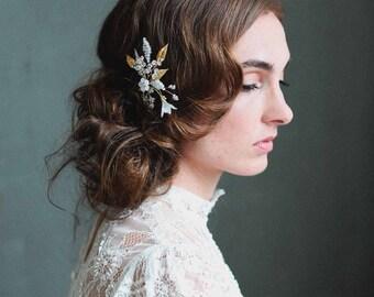 Bridal hair pins - Charming blossom hair pin - Style 715 - Made to Order
