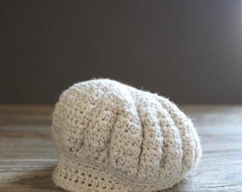 Blythe Custom Crochet Newsboy Cap