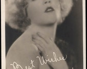 vintage photo Best Wishes Mae Murray Movie Star Director Producer