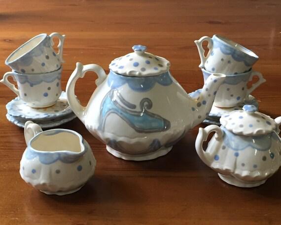 Cinderella have courage be kind tea set for little girls Cinderella afternoon tea