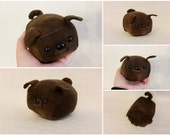 Mini Pug Loaf Brindle - Made to Order