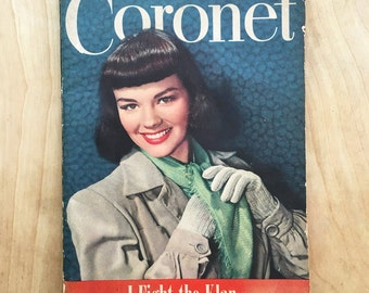 1940s Coronet Publication / Magazine Paper / Stories & Photos
