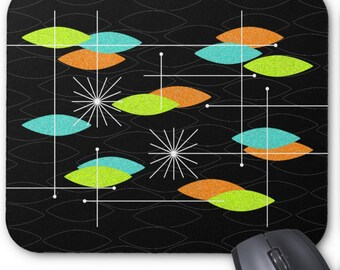 """Orbs Mousepad in 3 Color Options 9.25"""" x 7.75"""" for Home or Office"""