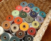 Waxed Linen Thread, Choose a color, 5 yards