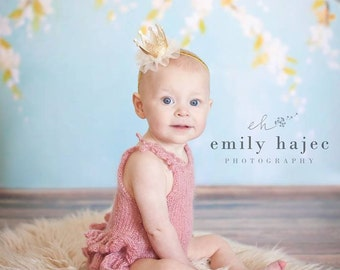 Knitted Romper with Ruffled Bottom, Mohair Onesie, Newborn Photo Props,   U Choose Color Size