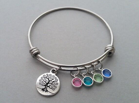 family charm bracelet family tree charm bracelet charm