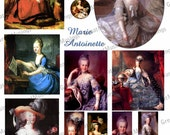 Queen Marie Antoinette digital collage sheet download France French Images Graphics pictures No.227