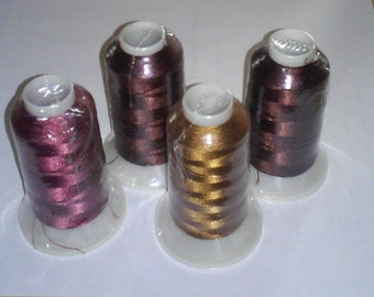 18 plus Spools of Polyester Embroidery Thread