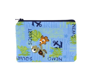 Finding Nemo Pouch / Squirt and Nemo Camera Bag / Cute Disney Coin Wallet